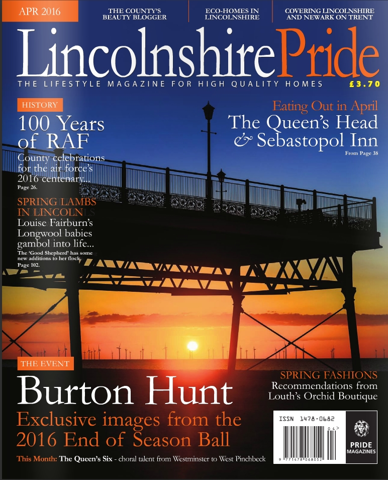 Lincolnshire Pride April 2016 Article