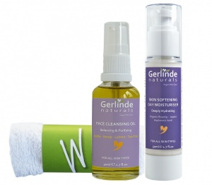 Skin Care Set 2 - Cleansing Oil and Day Moisturiser, save 10%