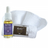 Balancing and Purifying Face Cleansing Oil 15ml plus Hot Cloth