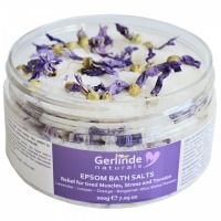 Epsom Bath Salts with Malva Flowers - ease aches, stress and tension of modern life and soften your skin