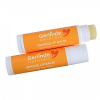 Orange Lip Balm with Shea and Mango Butter for super soft lips