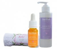Skin Care Set 3 - Cleansing Cream and Anti Ageing Face Oil, save 10% on the individual products