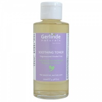 *Soothing Toner - Fragrance and Alcohol Free w. Aloe Vera and Green Tea Extract 30ml, Sensitive and Mature Skin