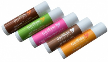 Lip Balms with Shea and Mango Butter for super soft lips