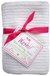 Washi! Pure Cotton Gentle Exfoliating Towel for Face and Body
