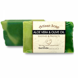 Aloe Vera & Olive Oil - Artisan Soap Bar