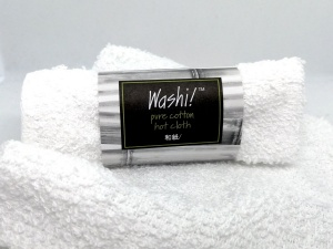 Washi! Cotton Hot Cloth - Face Cleansing Cloth