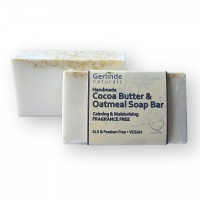Cocoa Butter & Oatmeal Soap Bar Fragrance Free